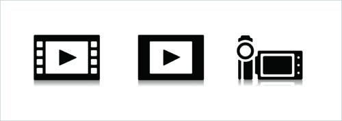 動画のアイコン